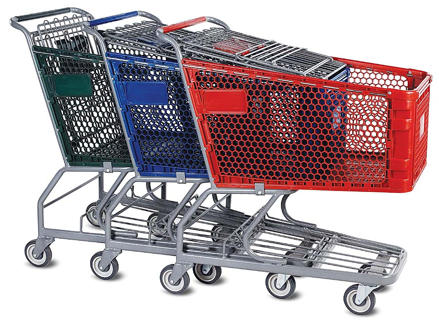 Plastic Shopping Cart (YRD-S180)