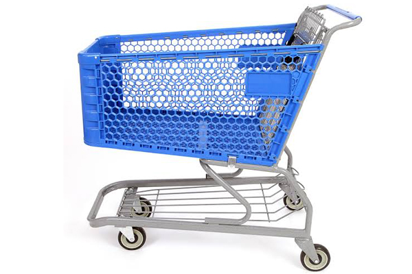 How to Clean the Plastic Shopping Cart Well