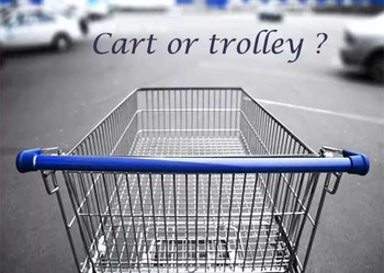 Grocery shopping cart or trolley manufacturing process analysis