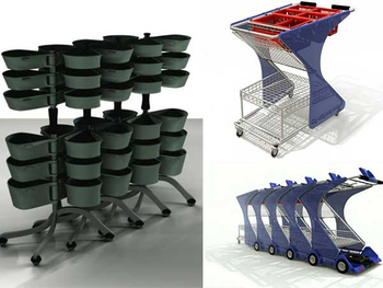 Which one is your favorite supermarket shopping carts design?