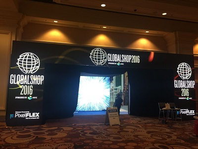 March 2016, We participated in the Globalshop Exhibition in Las Vegas USA