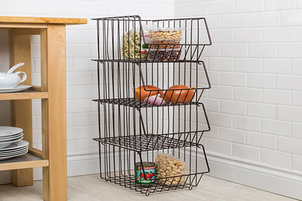 Why You Should Use Storage Cases And Wire Stacking Basket?